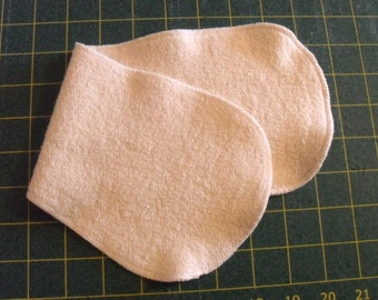 Organic Hemp fleece contoured doubler