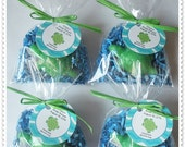 Turtle Under the Sea Woodland Favors Handmade Soap (20 complete favors with tags)