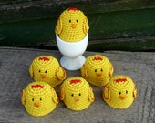 Easter Decoration - Spring Table Decor - Chicken Egg Cozy - Crochet Egg Cosy - Chicken Egg Warmers - Gift for Farmers
