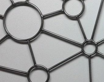 "FREE SHIPPING Metal Wall Art 20"" X 48"" Handmade Retro Panel Series13 Home Decor Sculpture"