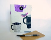 Kindle Case, Kindle Paperwhite, Fire 7 inch, Fire HD 8 Case, eReader Sleeve Cover - Coffee Cup