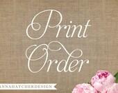 Print Order - 25 Invitations