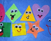 YELLOW SQUARE, Yellow Square What Do You See Flannel Felt Board Story Set