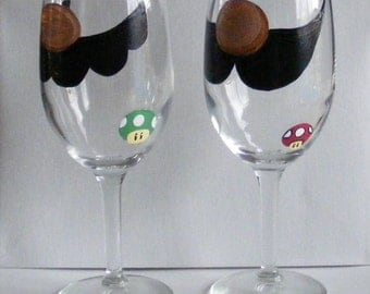 face changing wine glass by jennie nelson bunny by acornisland. Black Bedroom Furniture Sets. Home Design Ideas