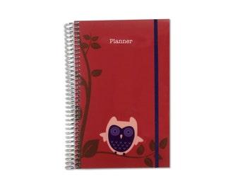 2017 Weekly Planner Organizer | 2017-2018 Planner | Personalized Planner | Weekly Monthly Planner | Weekly Organizer | Agenda Planner
