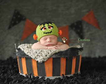 Frankenstein Hat  Photography Prop