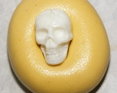Micro Miniature Skull Mold 10mm X 6mm