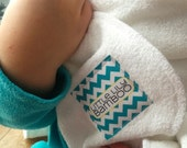 Organic Baby Towel Set, Bamboo Towel and Ten Bamboo Wipes Included