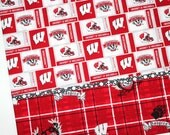 University of Wisconsin Badgers Pillowcase