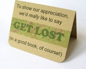 Gift Card Holder, Book Store Gift Card, Thank You Card, Bibliophile, Book Lover Gift, Teacher Thank You, Book Gift Card, Reader, Book Lover