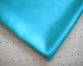 Destash Frozen Blue Satin Lining Fabric - 2 Feet