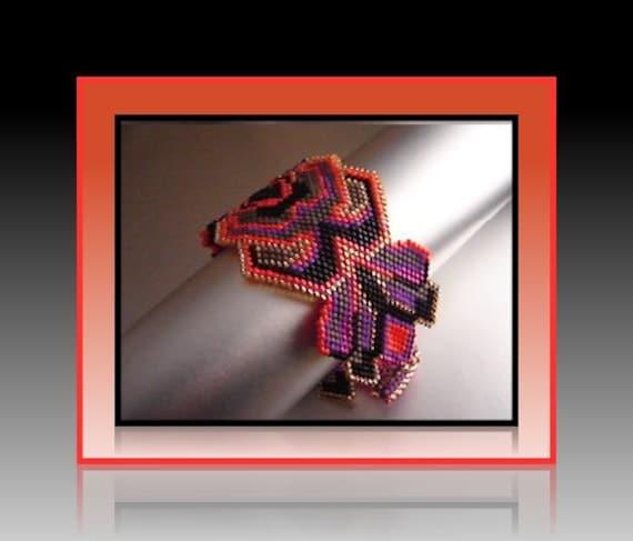 Pb1c 6 Mesmerizing Masonry Bead Woven Bracelet