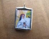 St. Rose of Lima Pendant - Catholic Art - Catholic Gifts - Medals - FREE SHIPPING