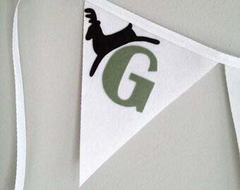Reindeer Games Bunting Banner