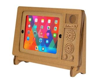 Cardboard Safari TV iPad® Stand (also fits iPad2 and iPad Air)