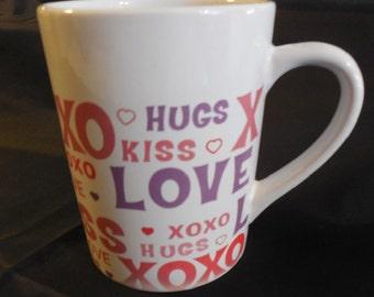 LOVE COFFEE CUP, Coffee Cup, Vintage Coffee Cup, Love Cup, Love Coffee Mug, Coffee Mug, Mug Gift, Sale, Vintage Mug, Birthday, Valentine Day