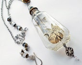 Resolution Reliquary Found Object Assemblage Necklace