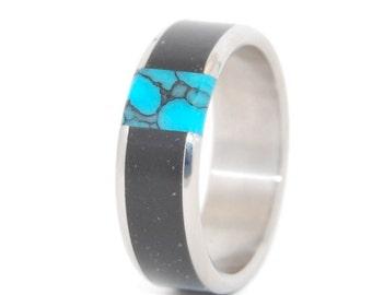 wedding rings, titanium rings, wood rings, mens rings, womens ring, Titanium Wedding Bands, Eco-Friendly Rings - NO ONE ELSE