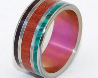 wedding rings, titanium rings, wood rings, mens rings, Titanium Wedding Bands, Eco-Friendly Wedding Rings, Wedding Rings - NARRA