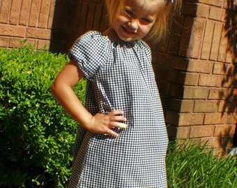ON SALE! The Rachel peasant dress, size 6mos.-8 girls