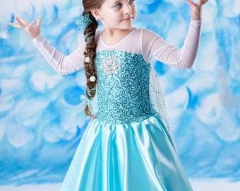 Frozen costume Elsa inspired costume 6/7