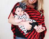 Chic Nursing Poncho - Super Soft Jersey Knit Fabric - Full Front and Back Coverage - Stays in Place - Lightweight and breathable