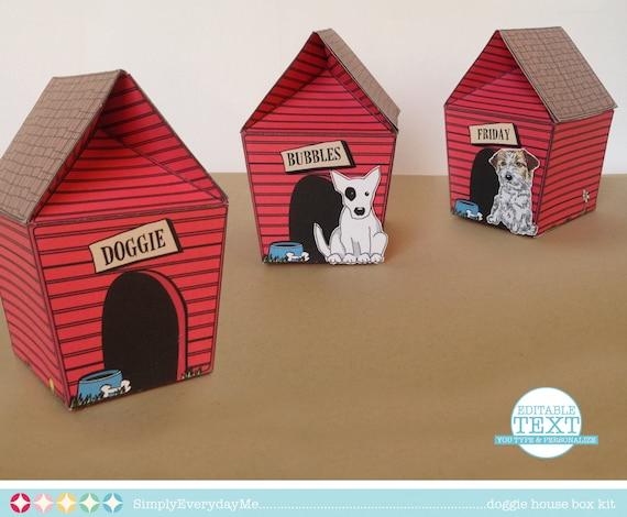 Dog House Card Box