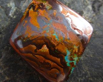 Super Sale! Koroit Boulder Opal Bead - Australian Boulder Drilled -  Bead #10
