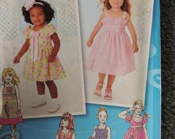 Simplicity 2265 Girls Dresses by Project Runway (uncut)