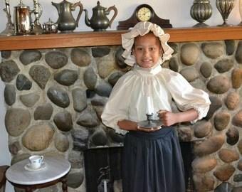 Girls Ladies Colonial Mob Cap All colors sizes bonnet