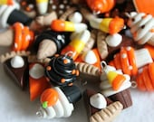 Polymer Clay Food Charms, Set of 10 Charms