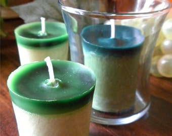 Chardonnay Grape Palm Wax Votives