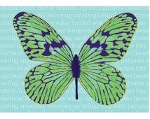 Flitter Flutter Butterfly print A4 wall art prose beauty grace anniversary wedding teal turquoise aquamarine or purple can be personalised