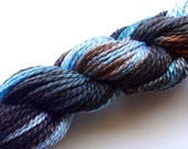 Storm Hand Dyed Perle Cotton Size 3