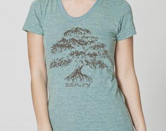 Banyan- Simplify by Chill Clothing Co American Apparel Tri Lemon T shirt