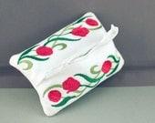 Flower Travel Tissue Cover