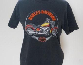 1980s Harley Davidson T Shirt Small