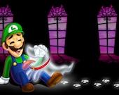 """11""""x17"""" Luigi and Polterpup Poster Print"""