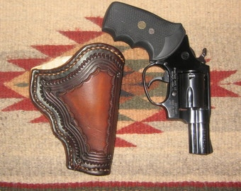 Custom made holster for S&W L Frame Snubbie - 10/12 week delivery
