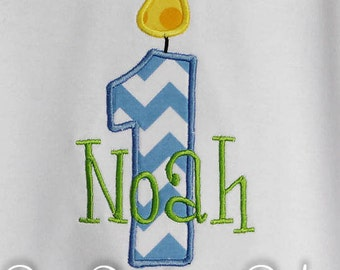 First Birthday Shirt, Boys Birthday Shirt, Monogrammed, Personalized, Gift, Shirt, Bodysuit, Sizes 3months up to 12 yrs