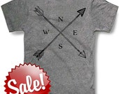 INDIAN CROSSED ARROWS Mens t shirt -- 8 color options -- sizes sm med lg xl xxl