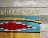 old southwest saddle blanket