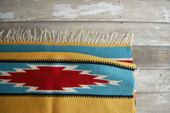 old southwest saddle blanket