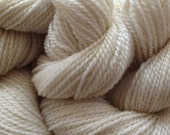 Merino Wool Yarn Lace Weight in Natural White