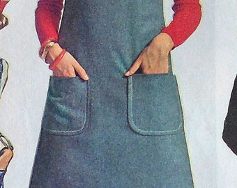 Vintage Jumper Sewing Pattern Simplicity 7877 Size 14 Mini Pant