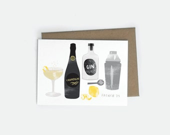 French 75 A6 Card