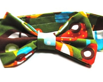 Sale, Boys Cotton Cars Bow Tie