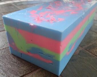 Bubble Gum Yogurt Soap Loaf