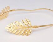 artemis headband. artemis greek goddess crown, headband, bridal hair accessory, brides gold leaves golden leaf wreath, tiara headband o