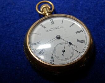 1892 American Waltham 16 Size Model 1888 Pocket Watch